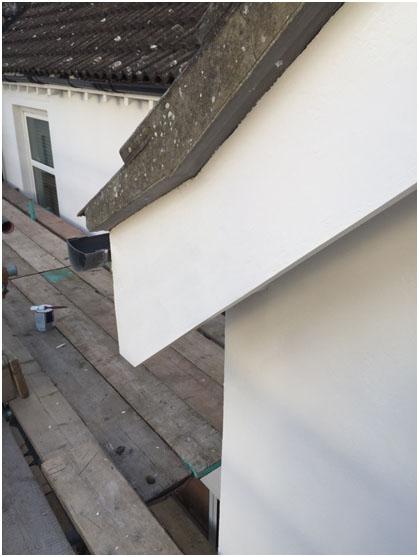 Roof Fascia Refurbishment